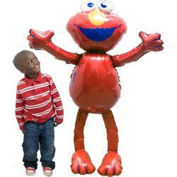Elmo Walking Balloon Sesame Street Birthday Elmo