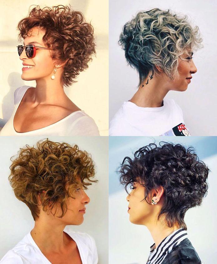 Tagli corti ricci: le tendenze capelli glam da non