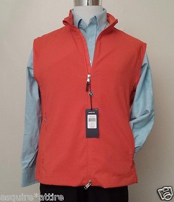 #POLO Ralph Lauren men size XL full zip windbreaker vest orange NWT RalphLauren visit our ebay store at  http://stores.ebay.com/esquirestore