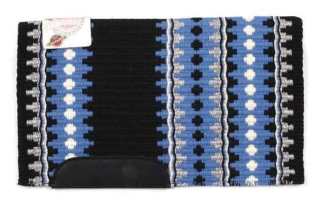 "Western Wool Show Saddle Blanket-Custom-34/""x40/""-Black-Red-Burgundy-Gray-Metallic"