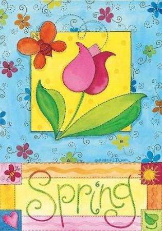 """Spring Garden Flag by NCE. $5.99. Handcrafted flags made from soft, high-quality special treated fabric. Text readable from one side of flag only. 12.5"""" x 18"""". Water repellent & UV resistant to extend the life and vibrancy of the flag. """"The greeting card to your home."""" Decorative flags make for a wonderful home & garden decoration for every season and reason! Our flags are created from original artwork by some of the nation's finest artists. Our unique process is your gu..."""