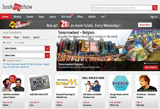 Build Your Own Online Movie Ticket Booking Website That Resembles Fandango Odeon Bookmyshow Justickets Ticketnew Moviet Movie Tickets Book Show Movie Blog