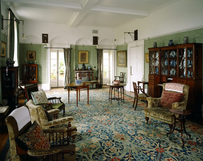William Morris's influence at Standen  Dream Home  Pinterest  Drawing rooms, William morris