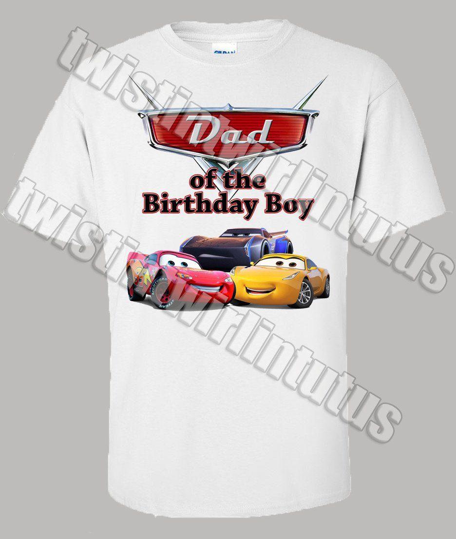 Cars 3 Dad Shirt