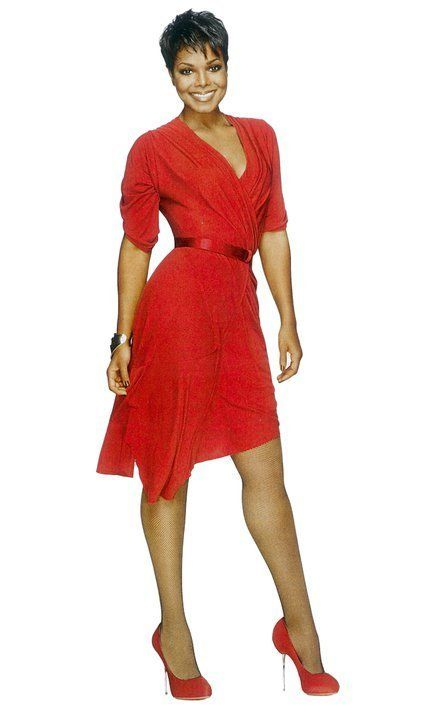 Janet Jackson,that beautiful Lady in Red! | Janet jackson