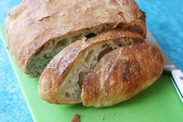No Knead/No Dutch Oven Bread | Recipe in 2020 | Dutch oven ...