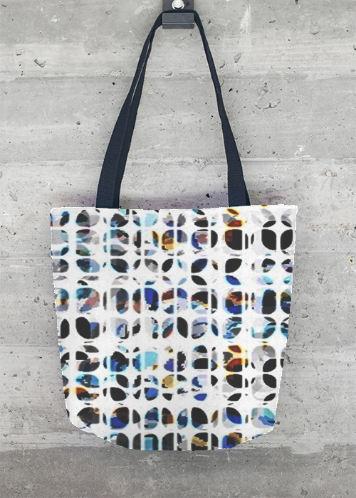 VIDA Foldaway Tote - Black & White Sketch by VIDA 23IZnyTwF