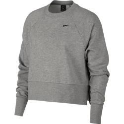 Nike Damen Sweatshirt, Größe L In Dk Grey Heather/black, Größe L In Dk Grey Heather/black Nike #womenssweatshirts