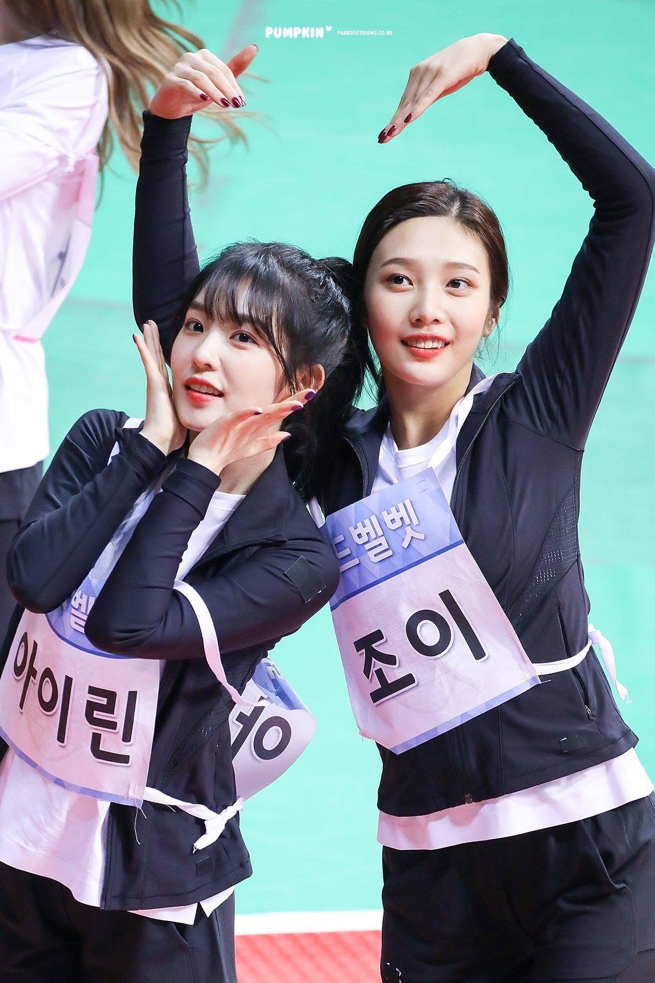 ISAC 2018 Red Velvet Irene & Joy   joyrene in 2019   Red