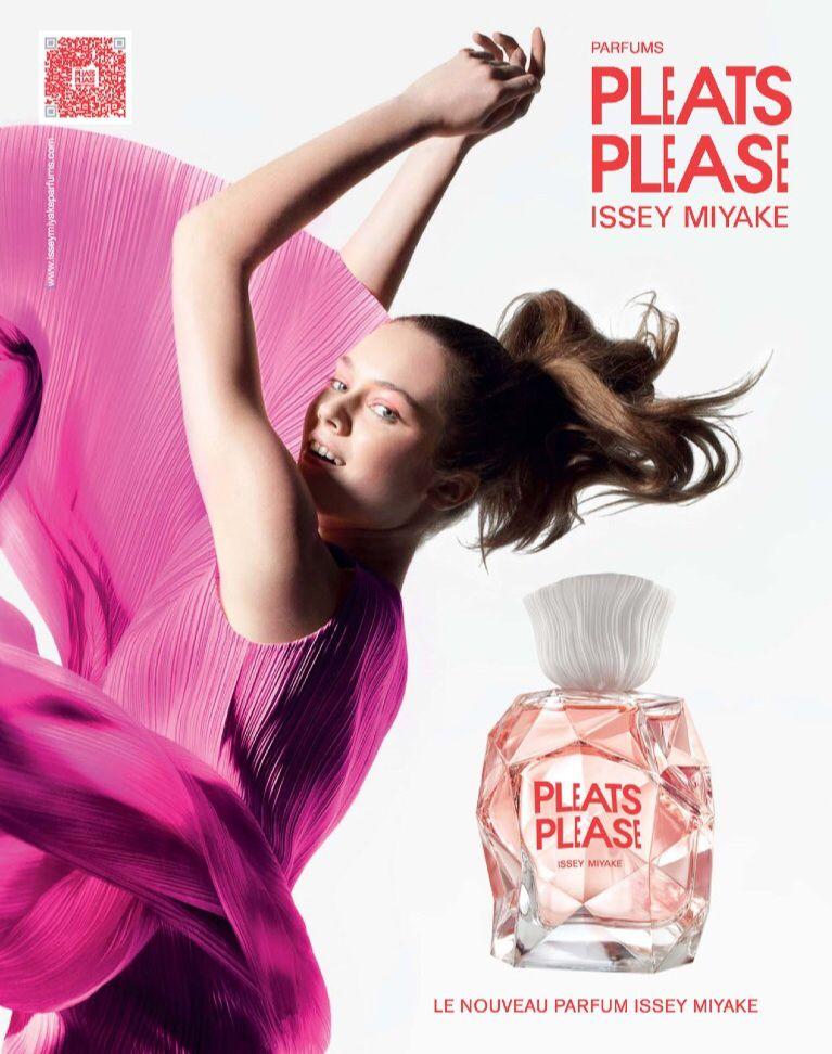 Pleats Please Issy Perfume Miyake Advertisingamp; Fragrance FJuTK1c35l