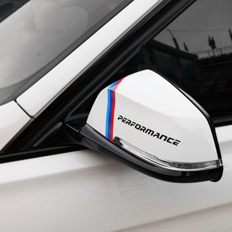 Product 2pcs Car Mirror Decoration Stickers Performance Sports Vinyl Decals For Bmw Sports Vinyl Decals Best Car Insurance Sports Vinyl