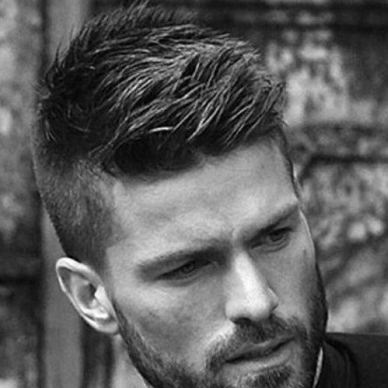 11 Ridiculously Awesome Short Hairstyles For Men Thick Hair Styles Mens Hairstyles Short Mens Haircuts Fade