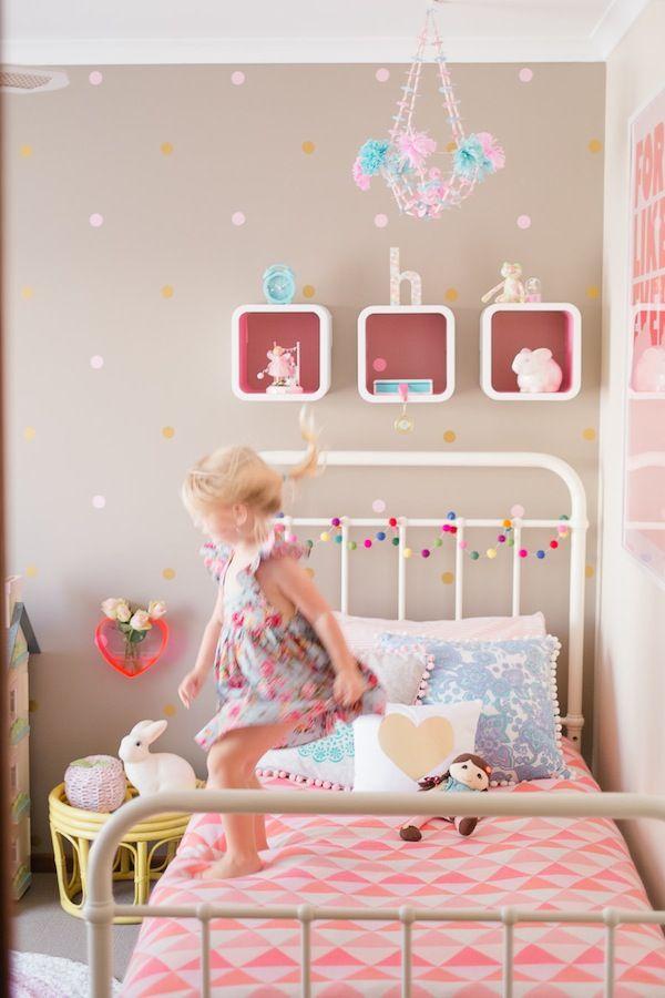 Room Tour: Holly\'s Modern Vintage Room | Dormitorio, Habitación ...
