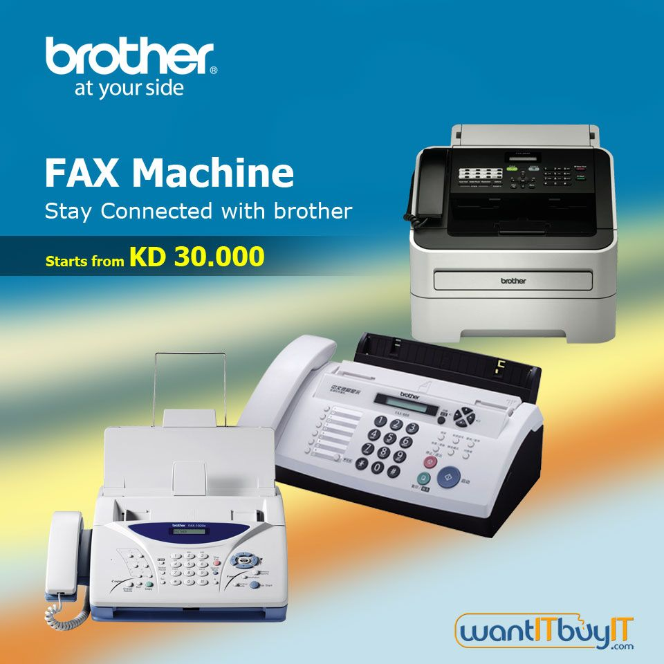 Brother Fax Machines HighSpeed Faxing for Your Home