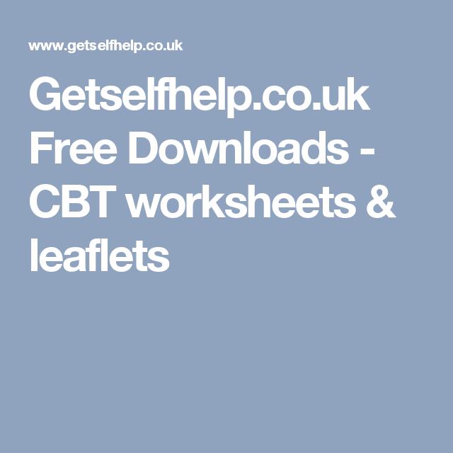 Cbt dublin ireland worksheet – the thought/feeling/behaviour comms.