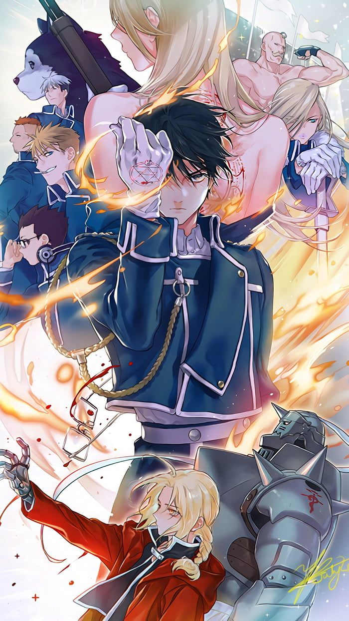 Photo of Roy Mustang & Edward Elric – Anime Wallpaper