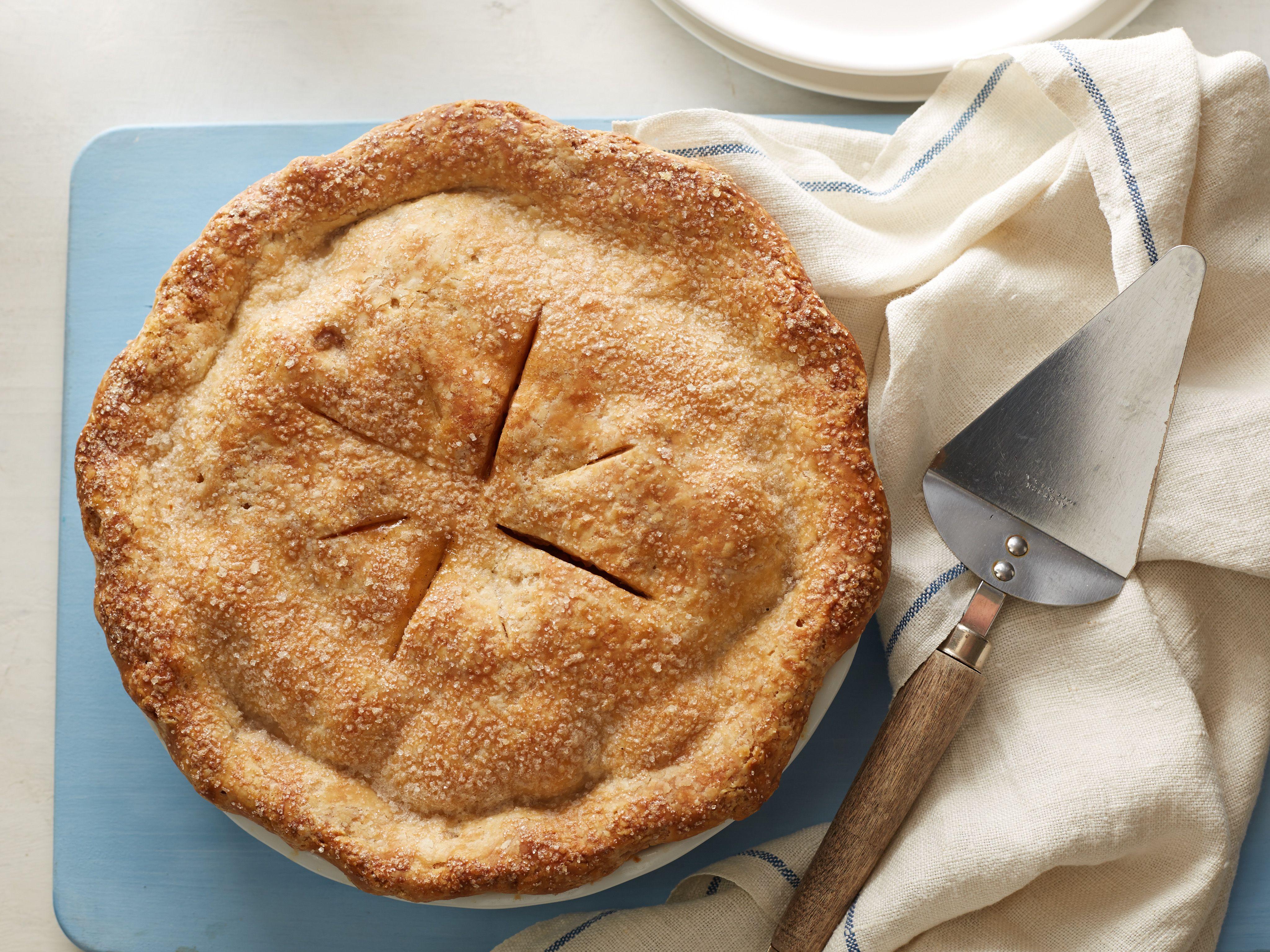 Deep Dish Vegan Apple Pie Recipe Food Network Recipes Vegan Apple Pie Deep Dish Apple Pie