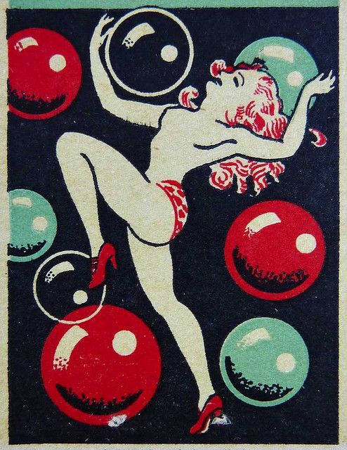 Matchbook art. #cocktails #nude #graphicarts