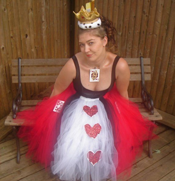 Queen of Hearts Adult Boutique Tutu Skirt by