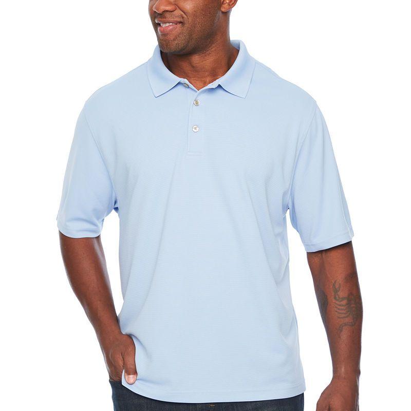 c3d4484ec696 Van Heusen Mens Collar Neck Short Sleeve Polo Shirt Big and Tall ...