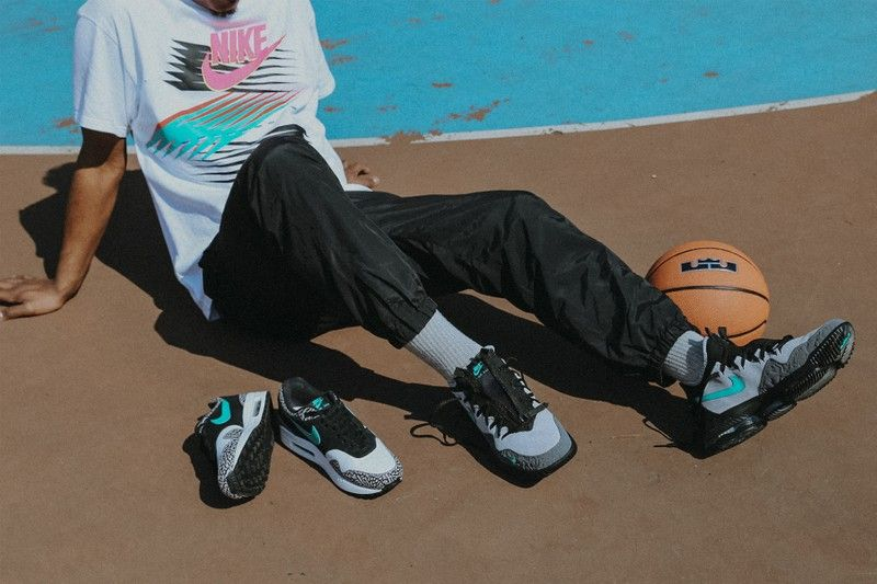 innovative design 36d46 405f2 atmos x Nike による LeBron 16 Low Clear Jade の公式発売情報が解禁
