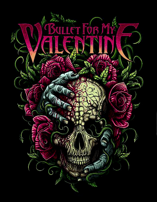 Bullet For My Valentine Bandas De Rock Bandas Arte En Metal