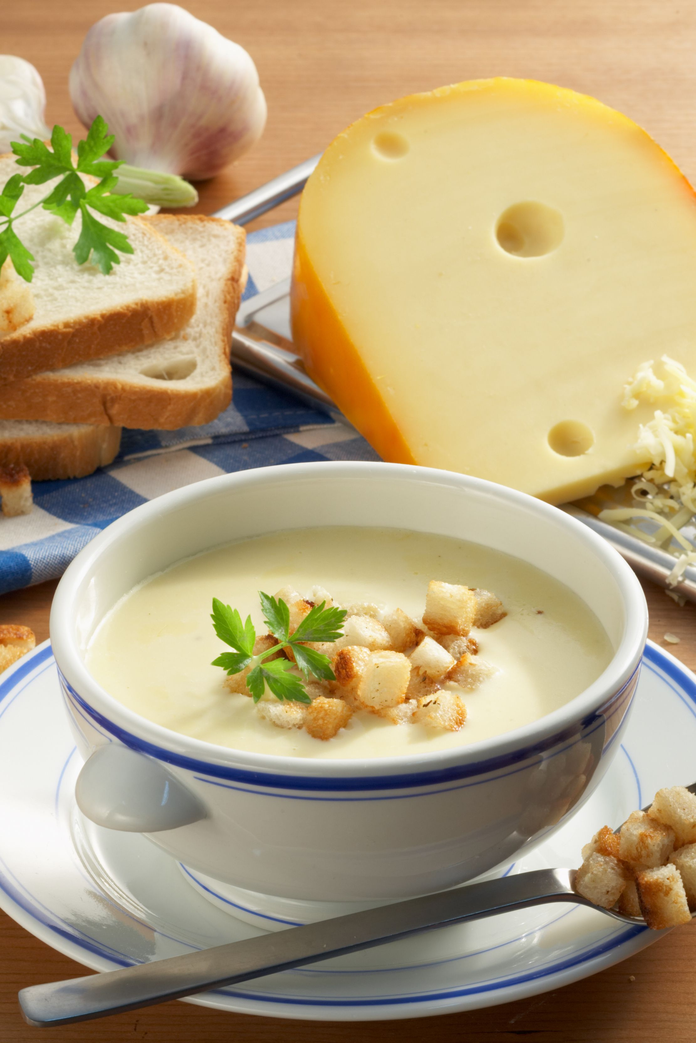Photo of Fine cheese soup