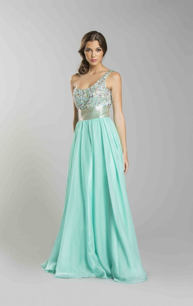 Empire Waist Prom Dresses with Sleeves
