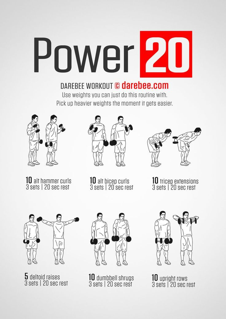 Robot Check Dumbbell Workout Arm Workouts At Home Arm Workout