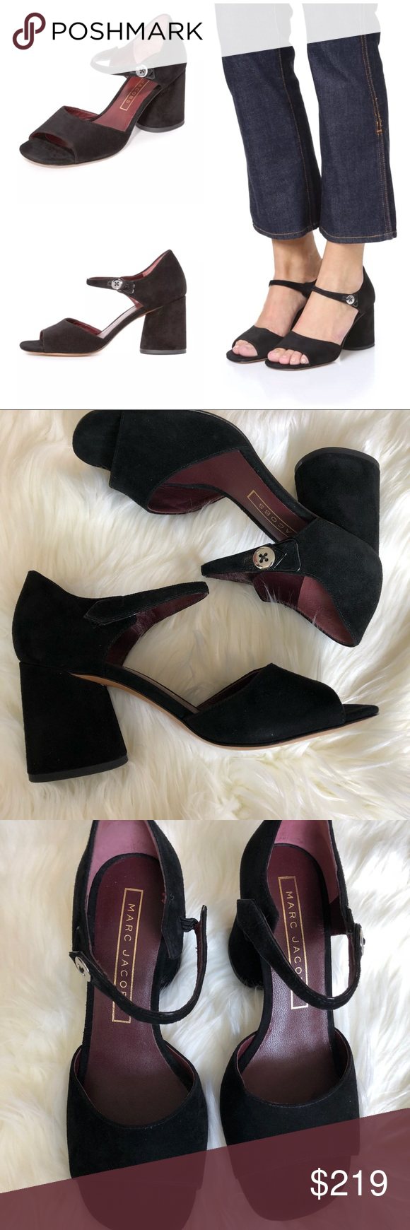 Block heels sandal, Marc jacobs shoes