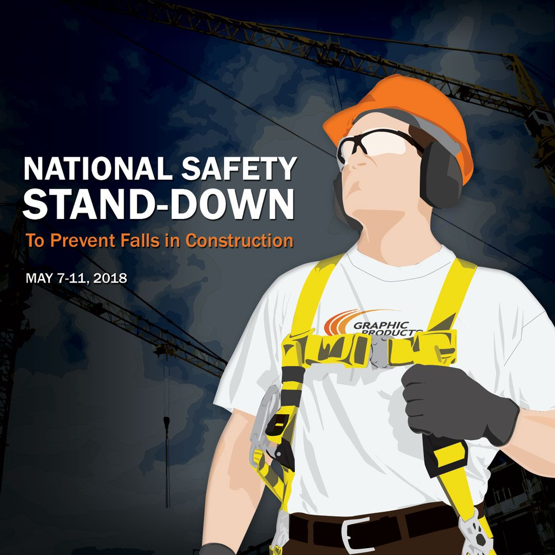 National Safety StandDown Graphic Products Fall