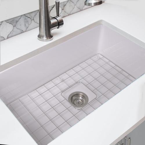 Nantucket 32 Inch Undermount Fireclay Kitchen Sink Sink Kitchen Sink Porcelain Kitchen Sink