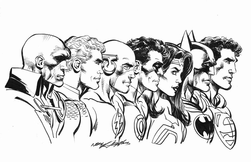 Justice League Coloring Page Awesome Justice League Print