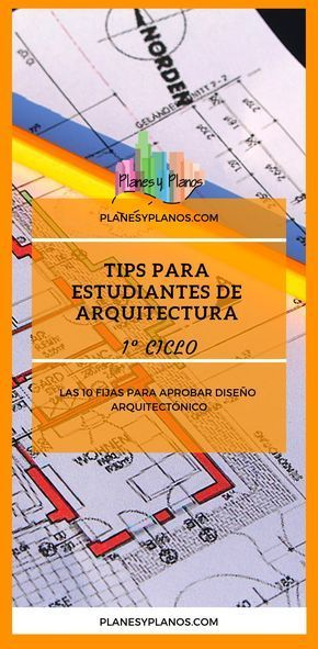 Las 10 fijas para aprobar taller de diseño arquitectónico  Planes y Planos  You want to know what many architects say about their strategies to cope with th...