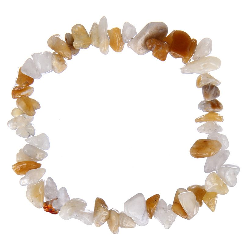 #Bracelets perles #Pierre Naturelle irrégulières pour femmes-  bracelets Stretch faits main Style Printemps/été-3 couleurs