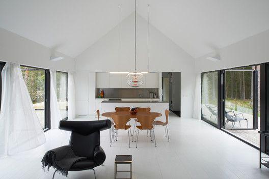 Gallery Of Villa Wallin Erik Andersson Architects 2 Moderne Kokkener Design Sommerhus