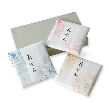 遊 中川/花ふきん 3枚組 2415yen 吸水性と速乾性に優れた蚊帳生地のふきん