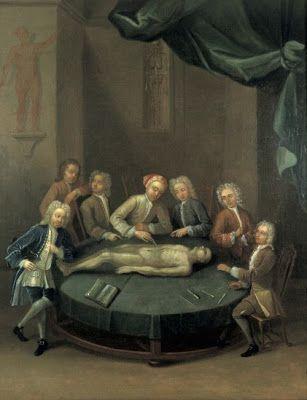 La Autopsia en el Arte: William Cheselden dando una lección de ...