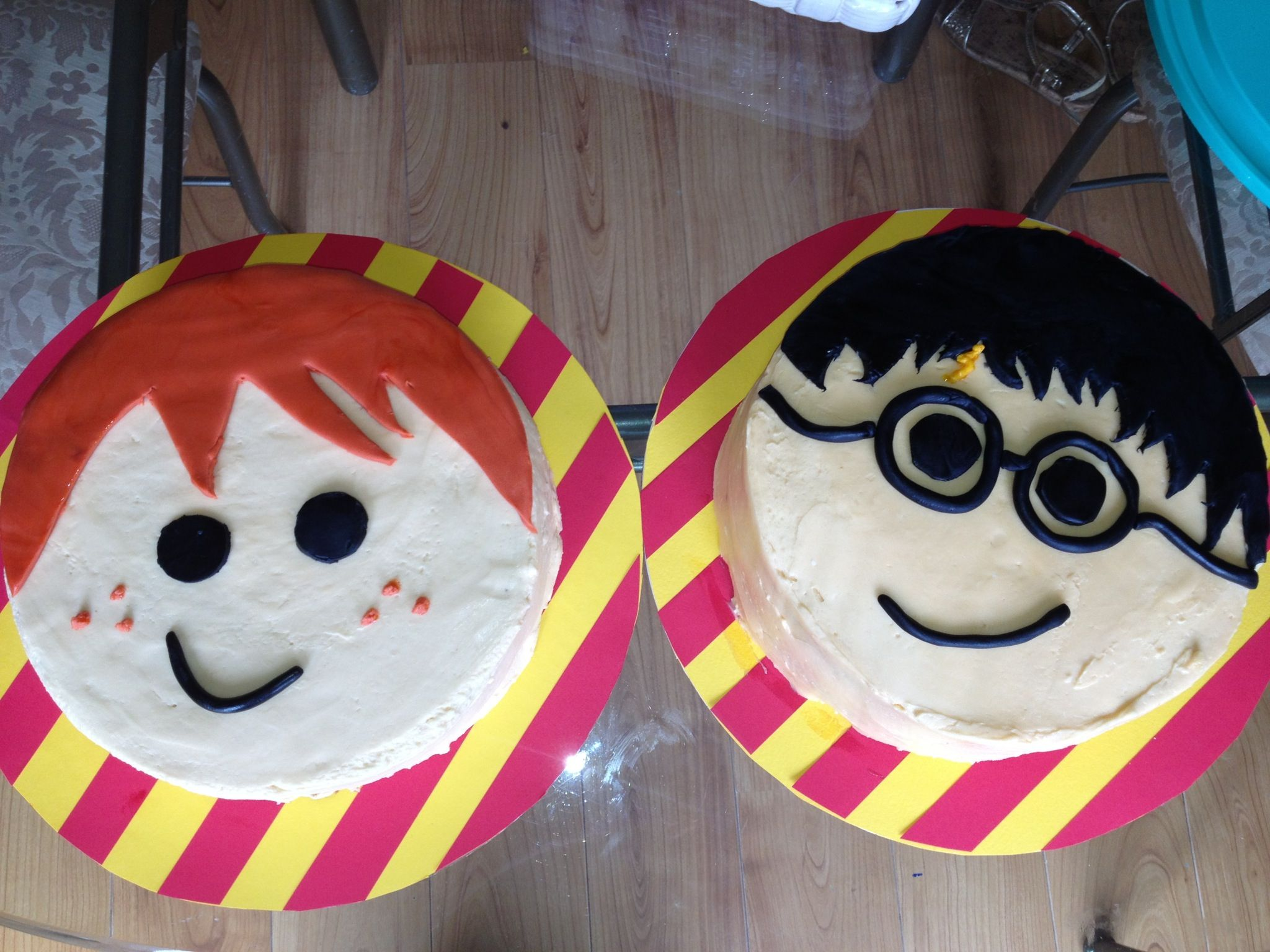 Birthday Cake For Ron : Harry Potter and Ron Weasley cakes for Harry Potter themed ...