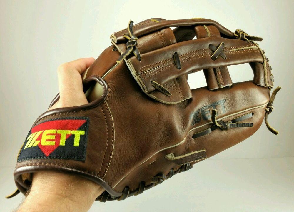 Zett Baseball Glove Players Series Leather Big 5116 Right Handed Thrower Zett Baseball Glove Leather Gloves
