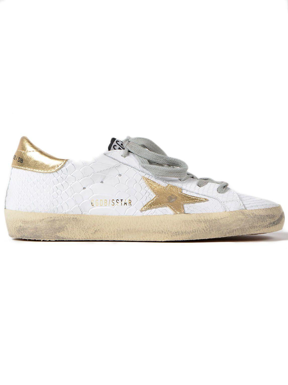 Golden Goose Sneakers Superstar Print