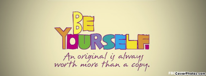 Be Yourself ) Facebook Cover FB cover photos Cover