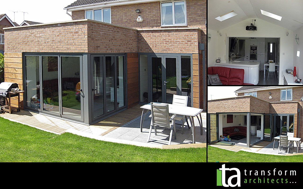 north facing kitchen and living room extension ideas - Google ...
