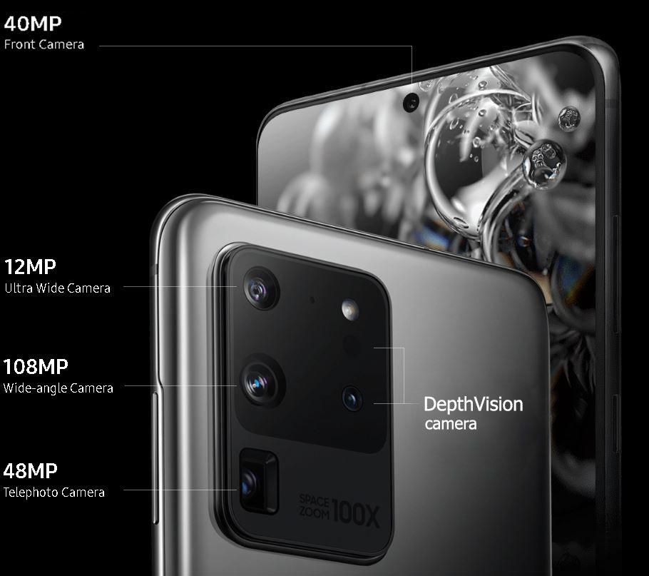"Introducing Samsung Galaxy S20 Ultra - 16GB RAM ""BEAST"""