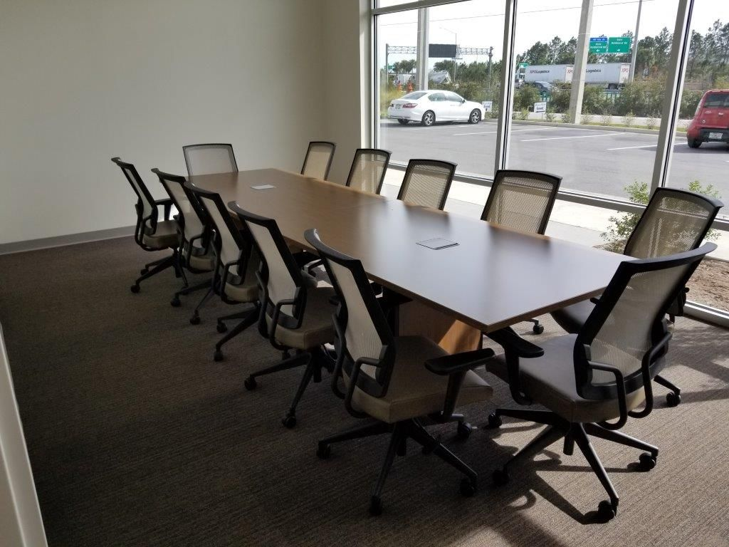 Powell Electrical Orlando Office Teknion Expansion Casegoods - Expanding conference table