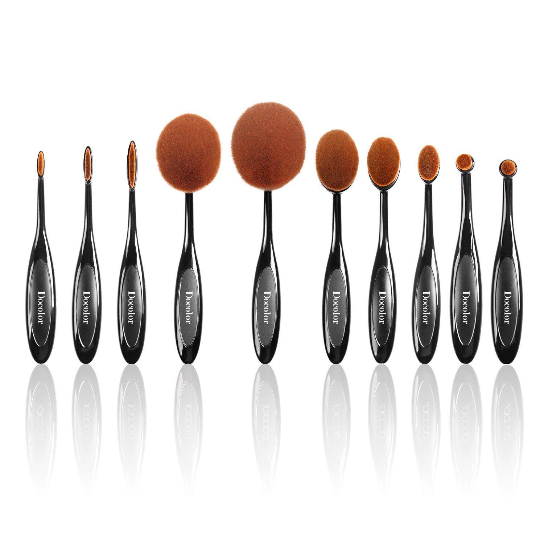 Docolor(TM) Professional 10Pieces Soft Toothbrush Shape