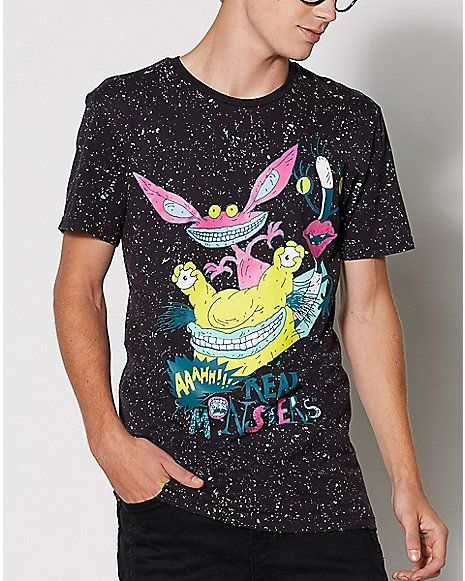 f69247af53 Aaahh!!! Real Monsters T Shirt - Spencer s