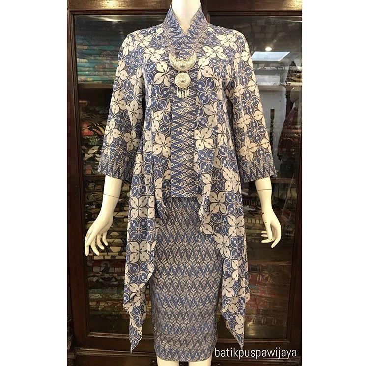 Model Baju Dress Batik Resmi