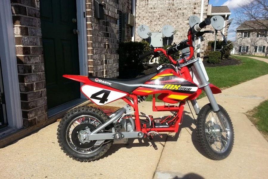 Review Of Razor Mx500 Dirt Rocket Electric Motocross Bike Ride