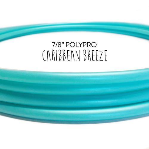 7 8 Caribbean Breeze Polypro Hula Hoop Hoop Junky In 2020 Hoops 3m Tape Hoop Dance
